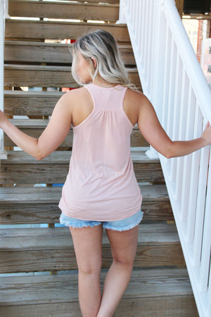 Be Kind Peach Tank