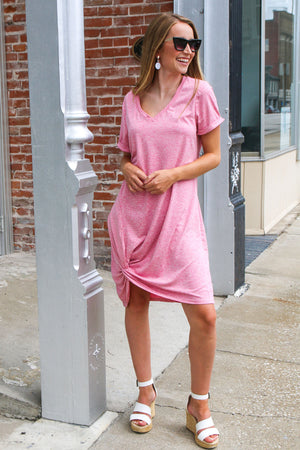 Fun Times For Summer Dress- Pink
