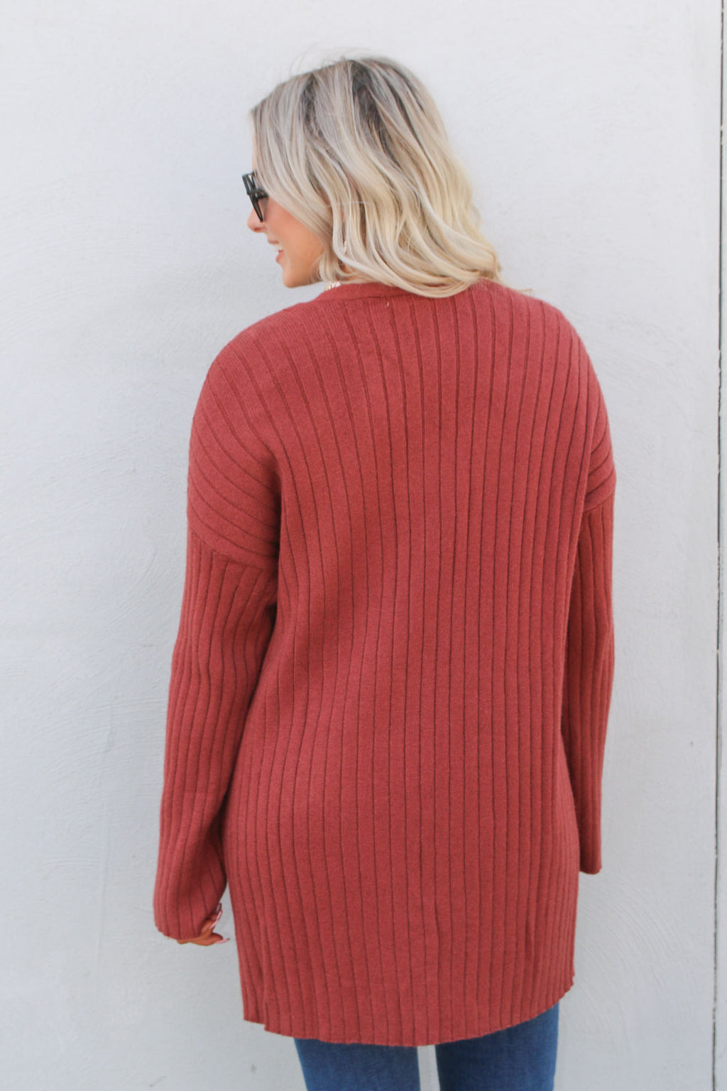 Rosewood Pocket Cardigan