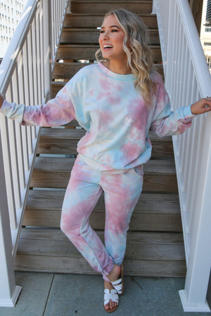 The Love of Tie Dye Sweats