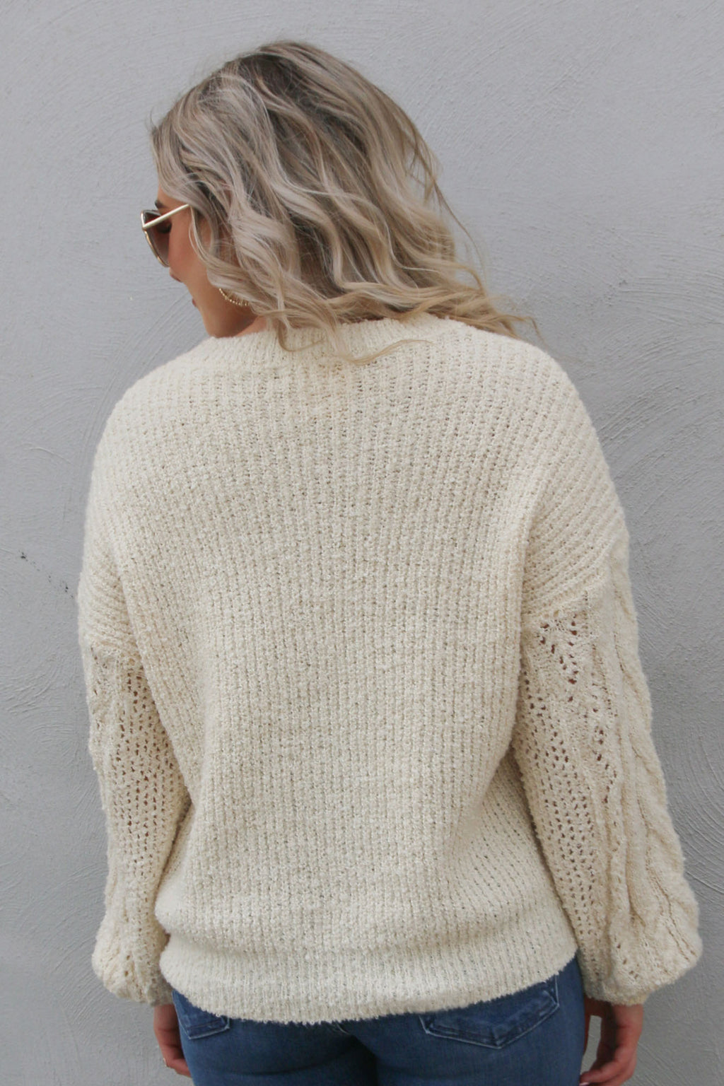 Traveler Sweater- Ivory
