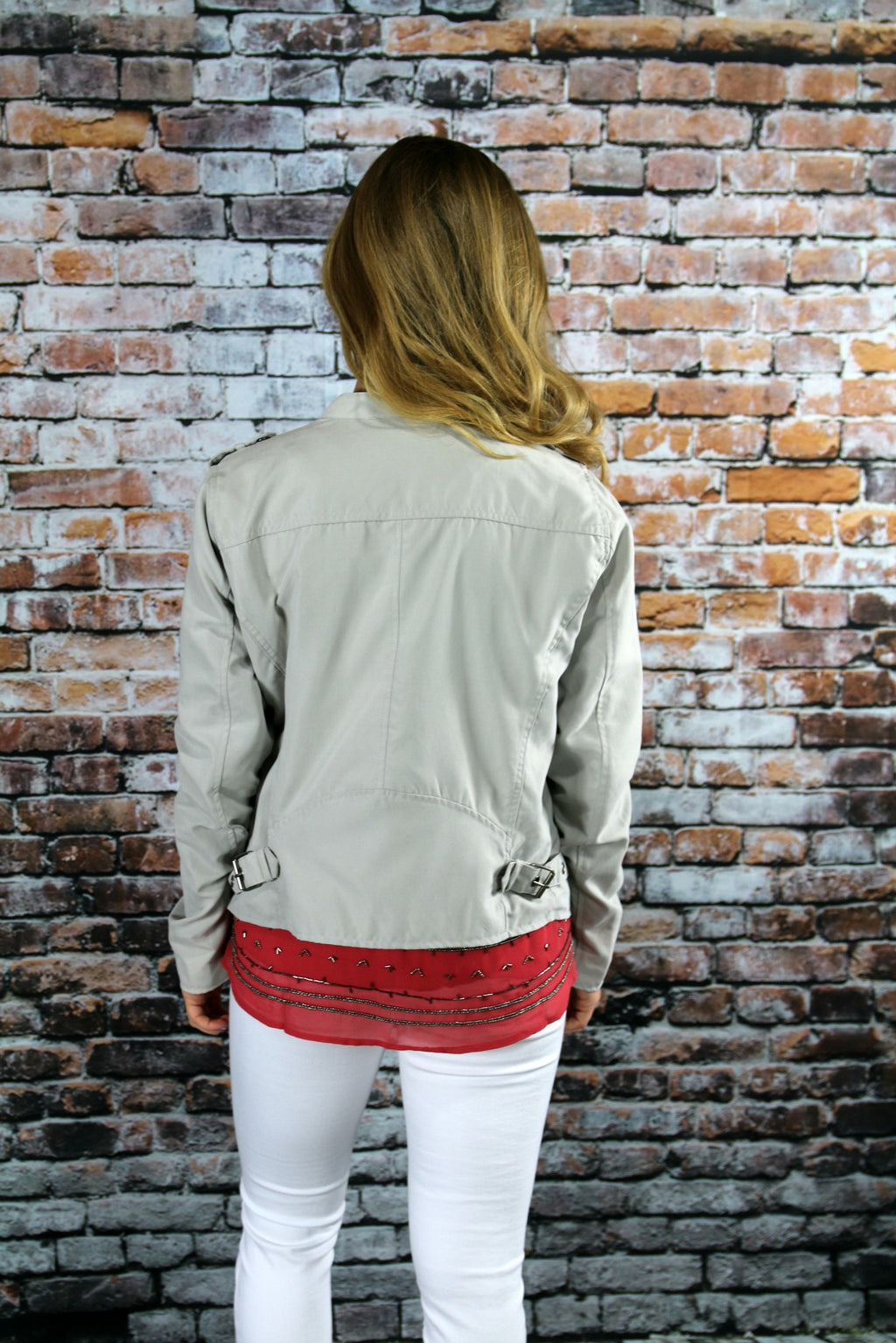Moto Jacket - Yellow Kiss Boutique