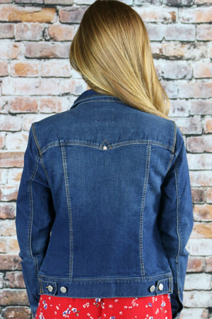 Kendal Denim Jacket - Yellow Kiss Boutique