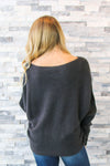 Kathy Charcoal Sweater