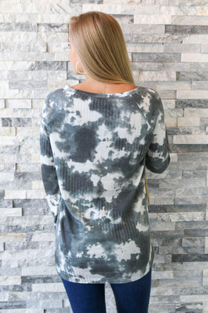 Suzanne Tie-Dye - Charcoal