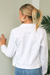 Classic White Denim Jacket