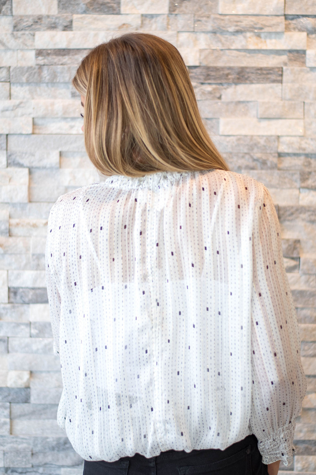 Sadie Blouse - White