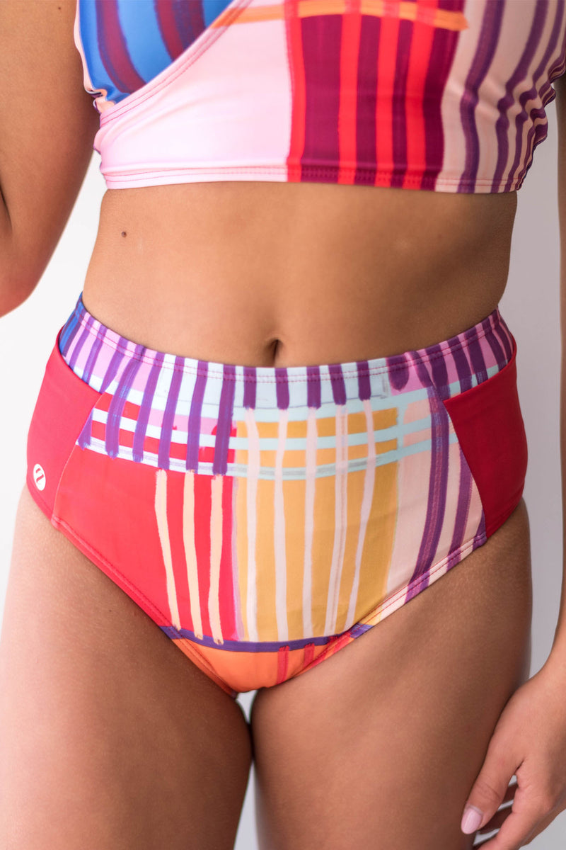 Havana Mid Rise Yoga Pocket Bottom Nani