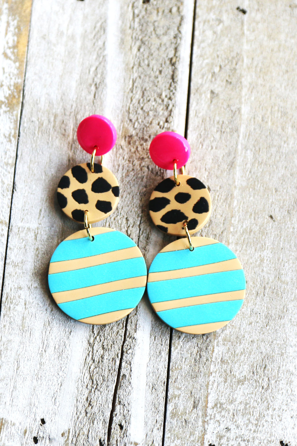 Happy Hour Earrings - Yellow Kiss Boutique