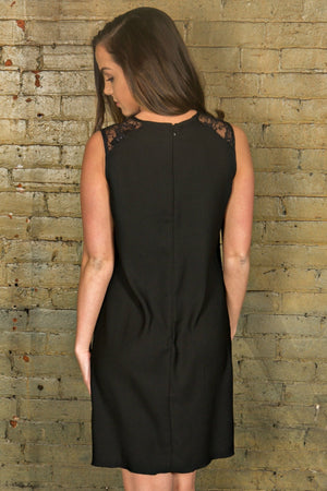 Hope Black Dress - Yellow Kiss Boutique