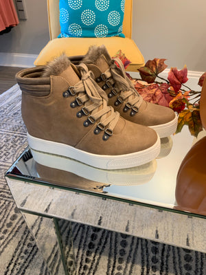 Yolo High-top Boot - Brownstone - Yellow Kiss Boutique