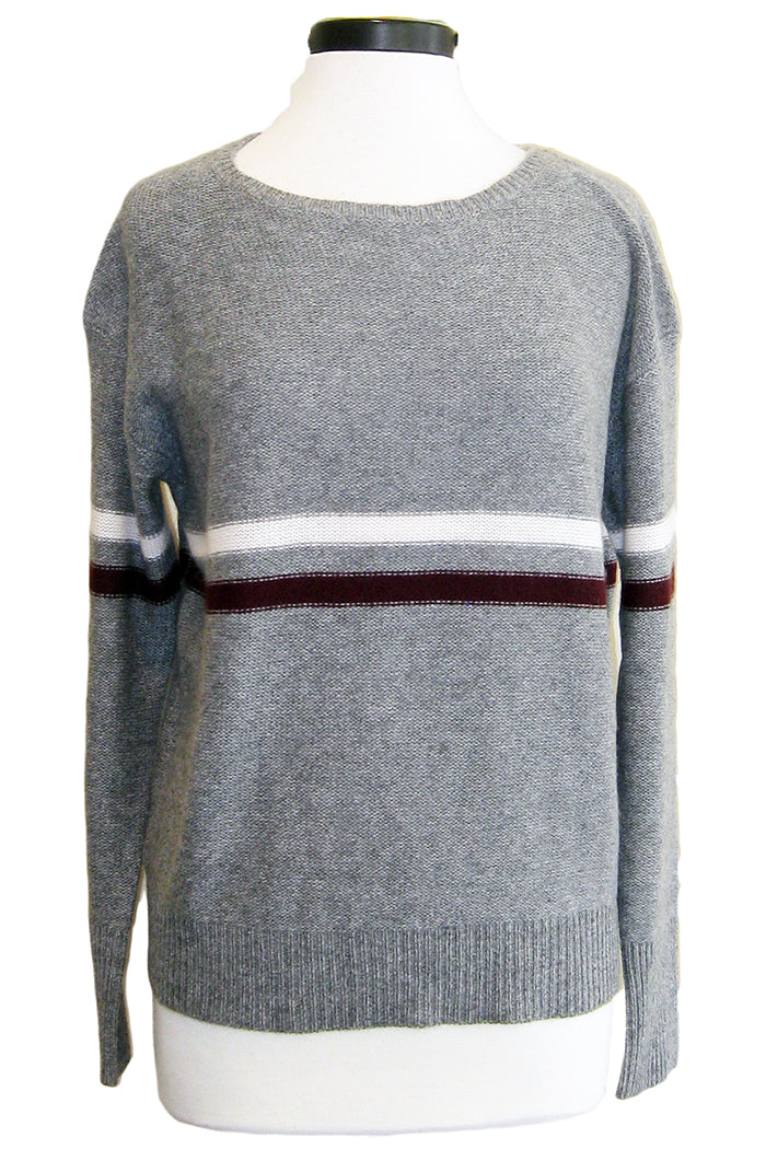 360sweater remington heather grey stripe