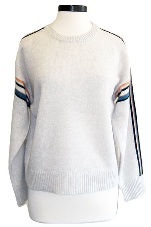360sweater teagan light heather grey
