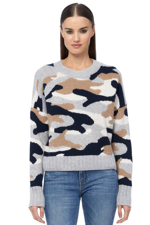360sweater kris navy multi