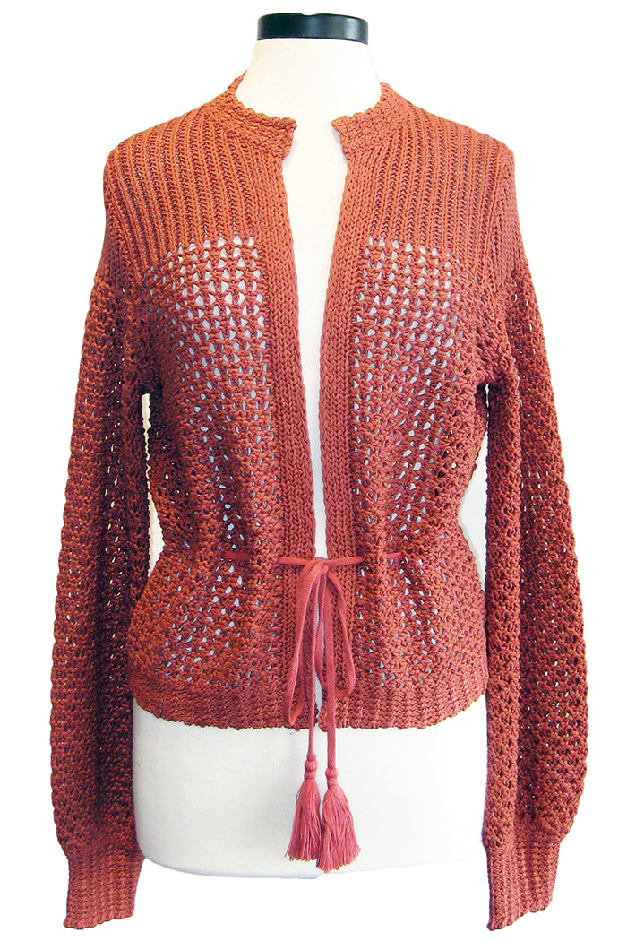 360sweater aveline terracotta