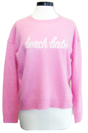 360sweater beach babe carnation