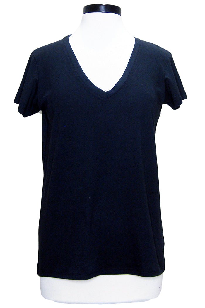 alternative everyday v-neck black