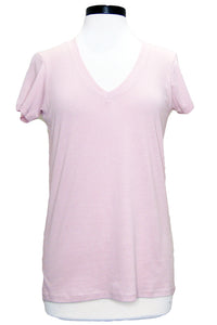 alternative everyday v-neck rose quartz