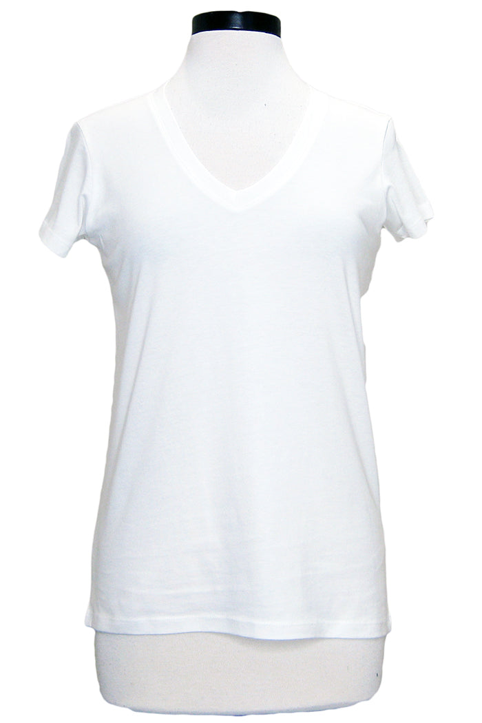 alternative everyday v-neck white