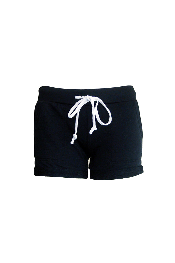 alternative lounge short true black