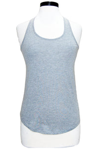 alternative shirttail tank heather grey