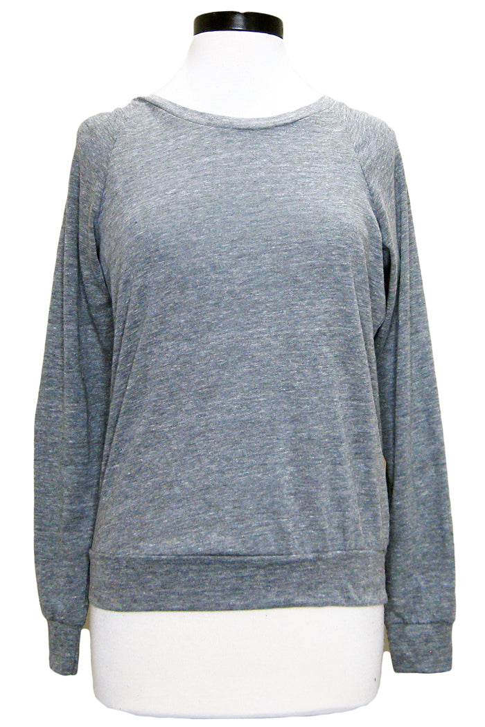 alternative slouchy pullover eco grey