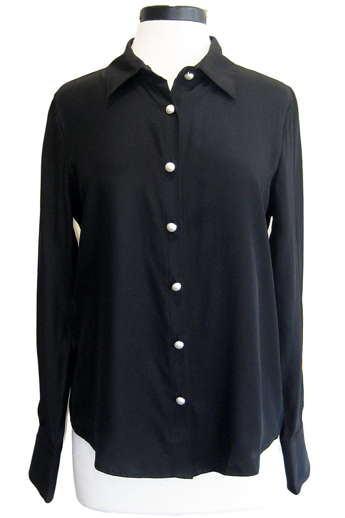 amanda uprichard bridgeport top black