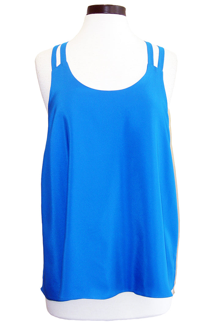 amanda uprichard camden tank electric teal