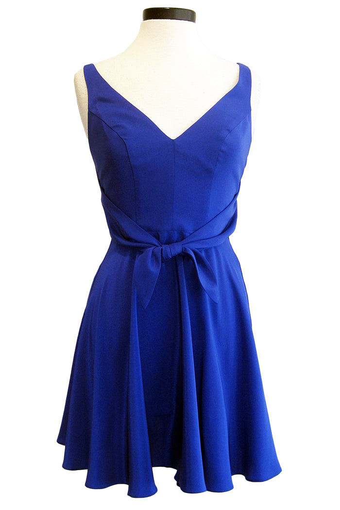amanda uprichard charter dress ultramarine
