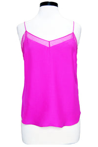 amanda uprichard frieda cami hot pink