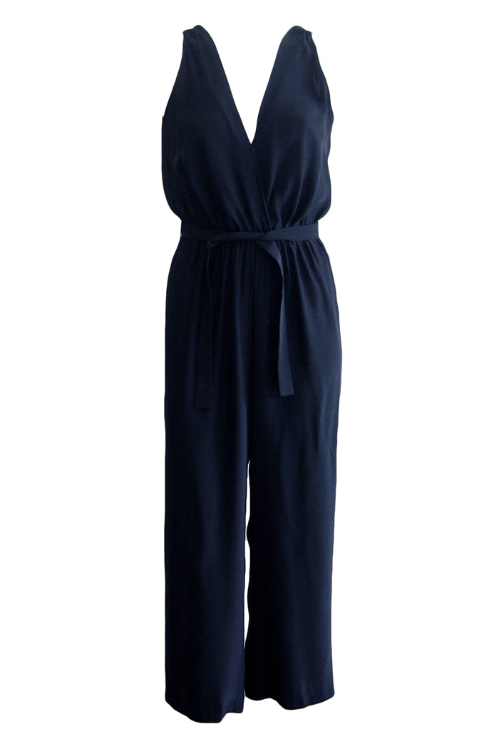 amanda uprichard gunnar jumpsuit black
