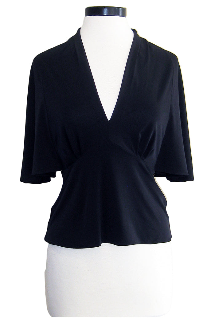 amanda uprichard jacques top black