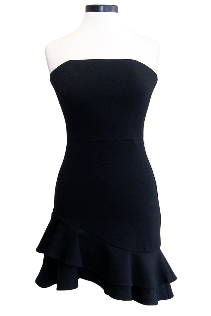 amanda uprichard persephone dress black