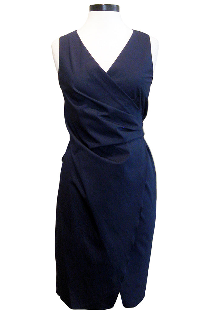 amanda uprichard rockefeller dress midnight
