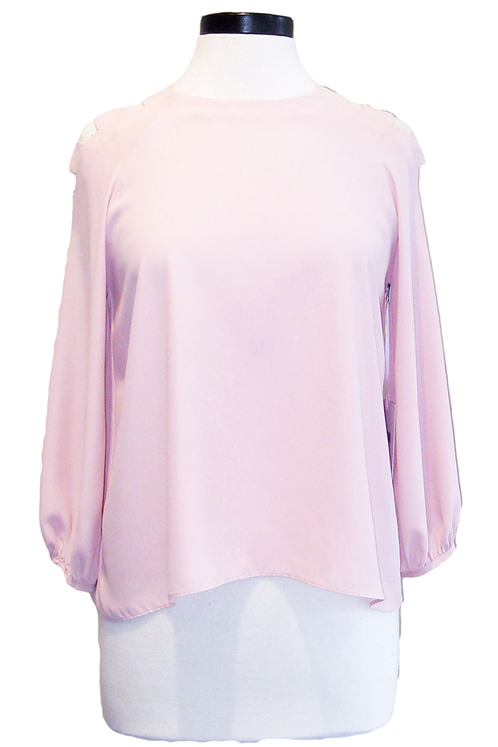 amanda uprichard sutter top dusty rose