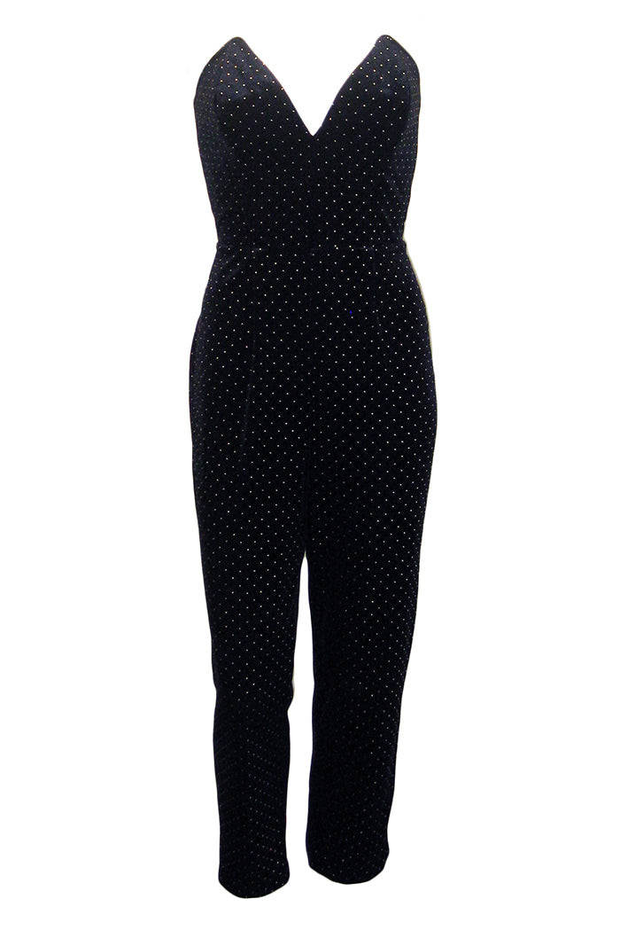 amanda uprichard viv jumpsuit black