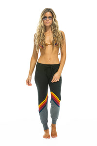 aviator nation glider stripe sweatpants