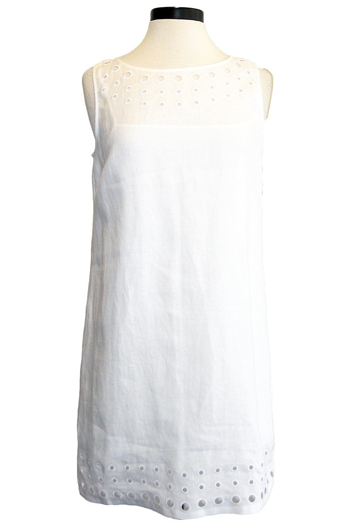bailey44 playa blanca dress white