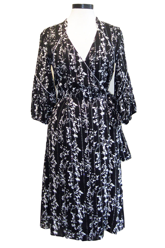 ba&sh folia dress noir