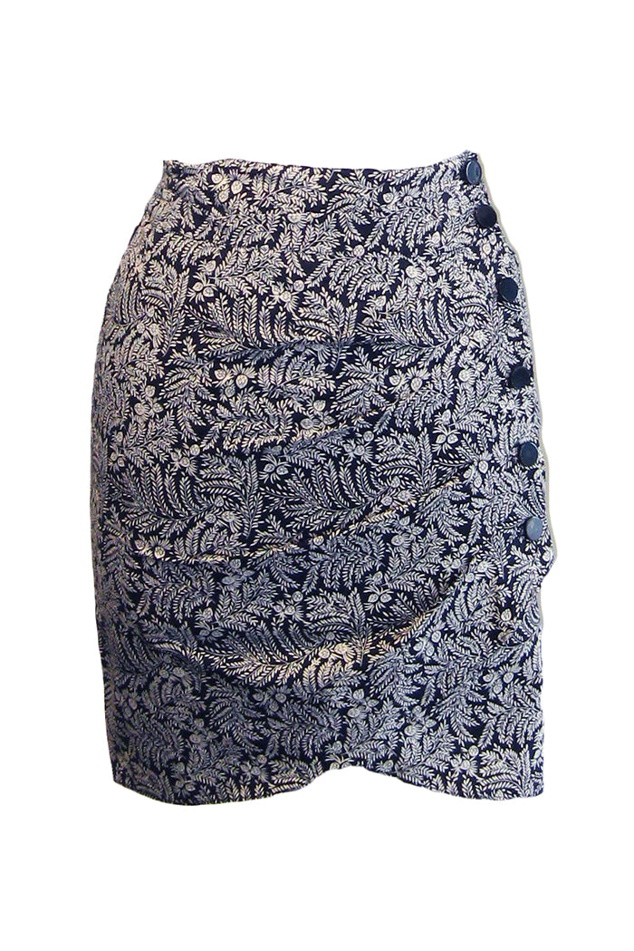 ba&sh foster skirt noir
