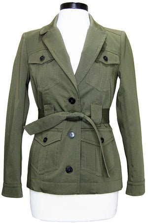 ba&sh muse jacket khaki