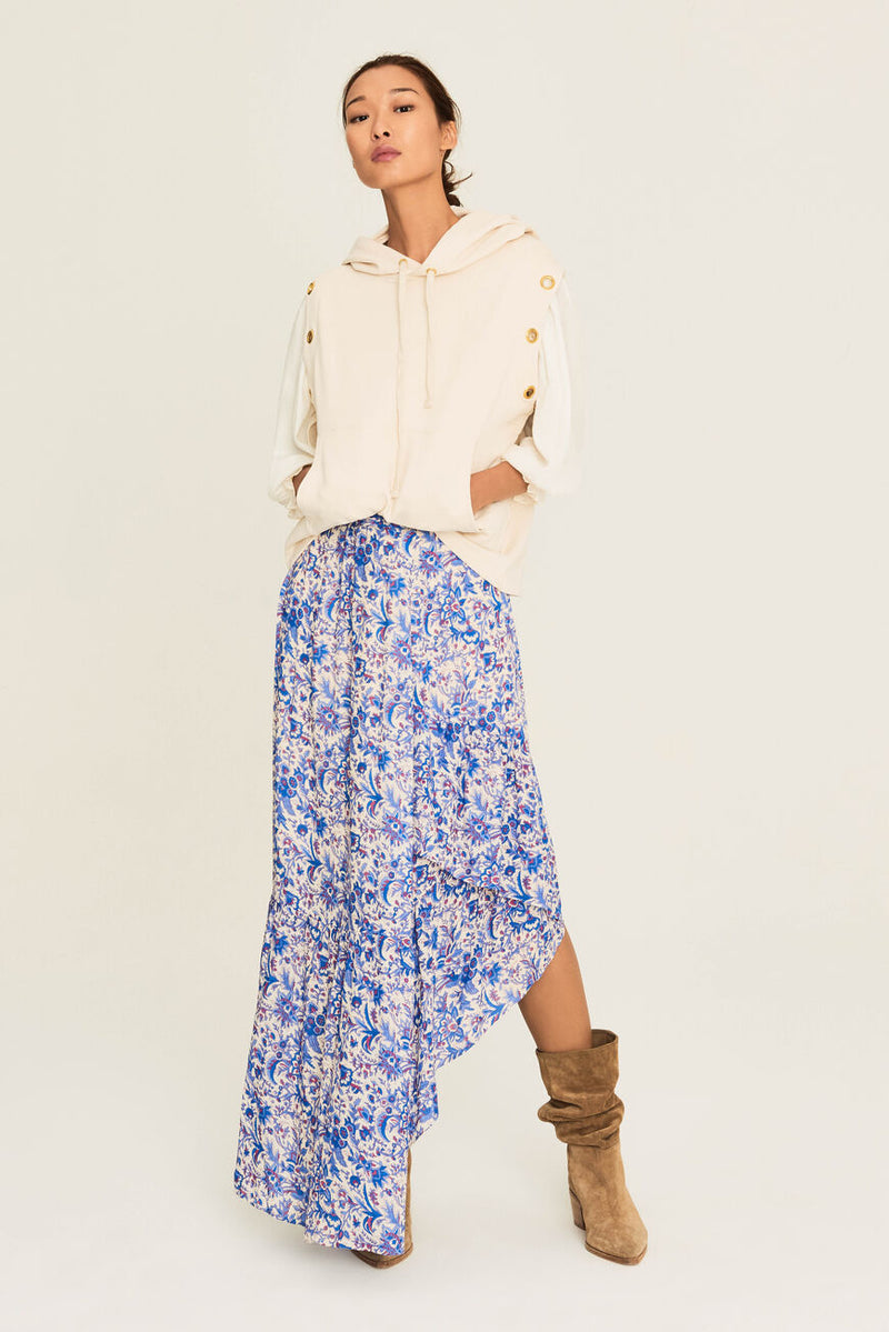 ba&sh billie skirt ecru