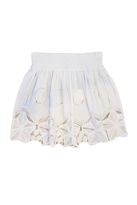bell cece skirt white