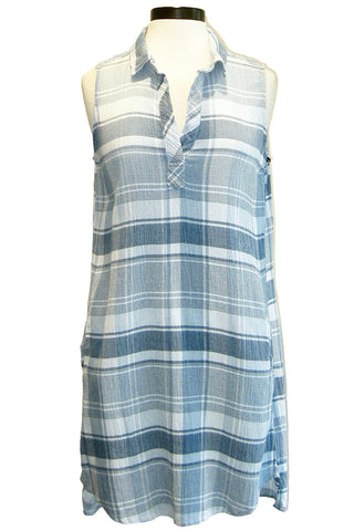 bella dahl sleeveless a-line dress
