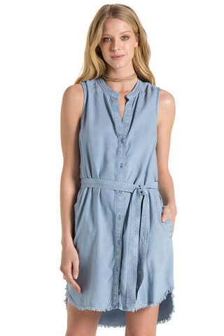 bella dahl belted shirt dress