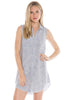 bella dahl fray hem hipster dress