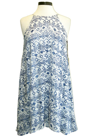 bella dahl halter dress