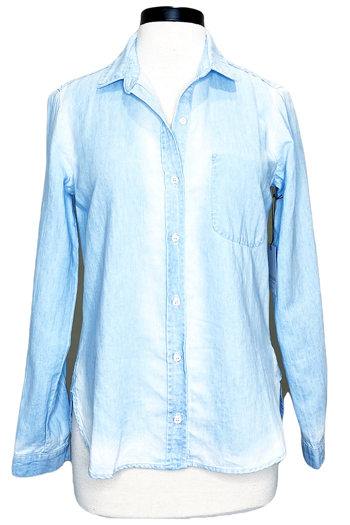 bella dahl shirttail button down sunseams wash