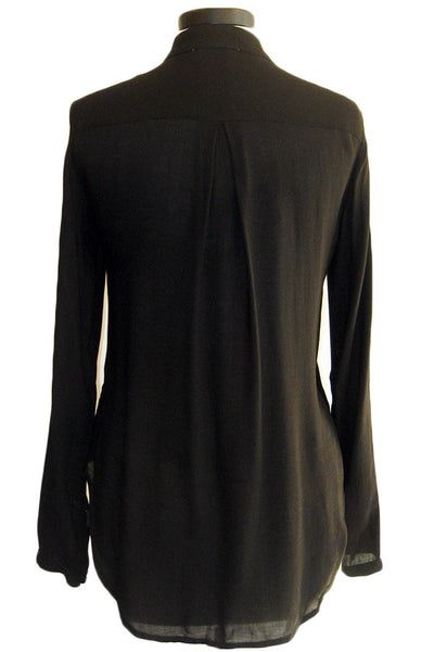 bella dahl oversized placket shirt