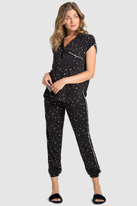 bella dahl sleep tee and jogger set